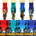 Coconut Tree Sarong Pareo Skirt Dress Wrap Cover-up Beach Var au sa096