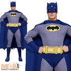 Batman Mens Fancy Dress Brave & The Bold Superhero Party Adult Costume Outfit
