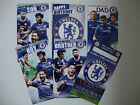 Chelsea Birthday Card Son Brother Crest Dad Team