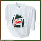 Castrol Classic Oils White Cotton T-Shirt Size XS to XL