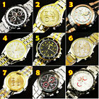 FREE SHIPPING NEW LUXURY WATCHES MEN'S QUARTZ STAINLESS STEEL WRIST WATCHES