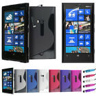 S LINE WAVE GEL CASE COVER - LCD SCREEN PROTECTOR FOR NOKIA LUMIA 920