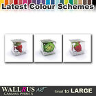 Fruits Ice FOOD & DRINK  Canvas Print Framed Photo Picture Wall Artwork WA