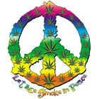 LET ME SMOKE IN PEACE GANJA WEED BEER Short Sleeve Gildan Ultra Cotton T-shirt