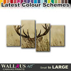 Stag in Grass ANIMALS  Canvas Print Framed Photo Picture Wall Artwork WA