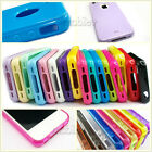 TPU Silicone Cell Phone Case Soft Color Crystal Skin Cover for iPhone 4 4S lot
