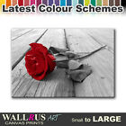 Rose Flowers Love FLORAL  Canvas Print Framed Photo Picture Wall Artwork WA