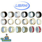 *Multi-Listing* LIBRHI Brand buff Brown/duct/Masking/Clear Parcel fragile Tape