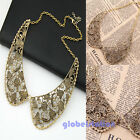 Fashion Retro Generous Hollow Out Flower Popular Choker Bib Collar Necklace