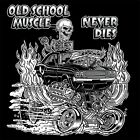 1970s OLD SCHOOL MUSCLE HOT ROD GASSER DRAG CAR BLOWER SKULL T-SHIRT