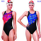 2013 NEW YINGFA Competition racing womens girls imprinted swimwear 932  24-34