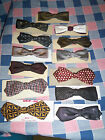Vintage Bowtie Bow Tie Pre-Owned U Chose Drop Down Box Pictures Front & Back