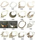 Choose Retail Fashion Women metal foam bib party statement necklace pendant