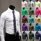 Kyпить Fashion Mens Luxury Stylish Casual Dress Slim Fit T-Shirts Casual Long Sleeve на еВаy.соm