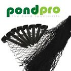 PONDPRO POND COVER NET 2M 3M 4M 5M 6M 10M FISH KOI POOL PROTECTOR NETS LEAVES