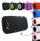 for Samsung Galaxy S III 3 S3 +PryTool Rugged Dual Layer Hybrid Armor Cover Case