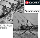 Cygnet *QUICKLOCK D/L ROD PODS* Quality Aluminium for Specialist Carp Fishing