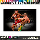 UFC MMA Bisping Wanderlei Silva Canvas Print Framed Photo Picture Wall Artwork
