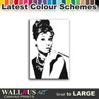 Audrey Hepburn Hollywood Icon Canvas Print Framed Photo Picture Wall Artwork WA