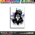 Notorious B.I.G. Biggie Smalls Canvas Print Framed Photo Picture Wall Artwork WA