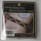 NEW Vintage Mill Hill Designer Glass Bead Beaded Bracelet Full Kit Instructions