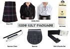 Boys Ultimate Kilt Package Complete Standard Casual Outfit, Heritage Of Scotland