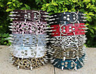 Colorful 100% Guarantee Spiked Studded Leather Dog Cat Pet Collars S, M, L, XL