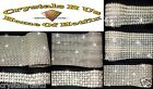 CHATON PEARL REEL FAUX DIAMANTE crystal lot STITCH-ON BLING DIY BURLESQUE CORSET