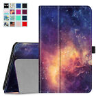 """Regular Kindle Fire 7"""" PU Leather Folio Cover Case Car Charger Protector Cable"""