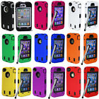 Rugged Rubber Matte Hard Case Cover For iPhone 4G 4S/5G 5 Screen Guard+Pen Cloth