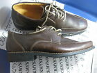 """NIB NEW SANDRO LIMITED """"LENOX"""" OXFORD LEATHER CASUAL/DRESS COMFORT SHOES BROWN"""