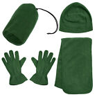 Unisex Women Men Knitted Hat Beanie Gloves Scarf Winter Warm 3 Pieces Set