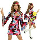 Adult 1960s Retro Costume Go Go Girl 60s Decade Fashion Fancy Dress Party Outfit