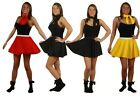 "The Dragons Den 15"" Rock n Roll Skirt Full Circle Choice of Colours size 8-14"
