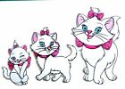 AristoCat Marie Embroidered Iron-on or Sew-on Cotton Embroidered Patch