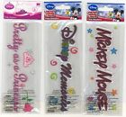 U CHOOSE  Disney MEMORIES MICKEY MOUSE PRETTY PRINCESS TITLE larger 3D Stickers