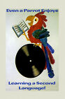 Even Parrot Enjoys Learning Second Language French Vintage Poster Repro FREE S/H