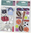 U CHOOSE  Jolee's INDOOR VOLLEYBALL ALL STAR 3D Stickers sports