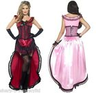 Ladies Saloon Girl Burlesque Brothel Babe Wild West Fancy Dress Costume Outfit