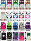 3D Silicone Cover Soft Case For Apple iPod Touch 4 4th