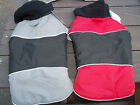 NWT Water Resistant Dog Coat Reflective Stripes Med/Large 16-22 Inches