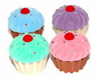 GIRL'S CUPCAKE NECKLACE IN MATCHING CUPCAKE BOX - 4 COLORS
