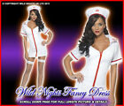 FANCY DRESS COSTUME # FEVER WHITE SEXY NURSE
