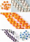 20/100pcs Crystal Lamp Ball Prism CHANDELIER WEDDING Decor Teardrop Bead  9*10MM