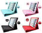 5color Leather Case Cover Bluetooth Wireless Keyboard For Apple iPad 2 3 4 UK