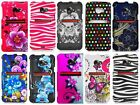 For HTC EVO 4G LTE Design Hard Cover Snap On Case Phone Accessory