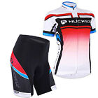 Cycling Bicycle Comfortable outdoor Jersey + Shorts size S - XL For Women Red