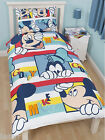 MICKEY MOUSE DUVET COVER PILLOW CASE BED SET 'PLAY' KIDS CARTOON DISNEY BEDDING