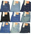 $58 LEVIS 505 MENS JEANS~~~STRAIGHT FIT~~~MANY SIZES & COLORS~~~NEW WITH TAGS!!!