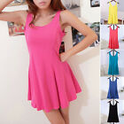 Fashion Lady's Candy Color Sweet Modal Vest Casual Sleeveless Dress 6 Color HOT!